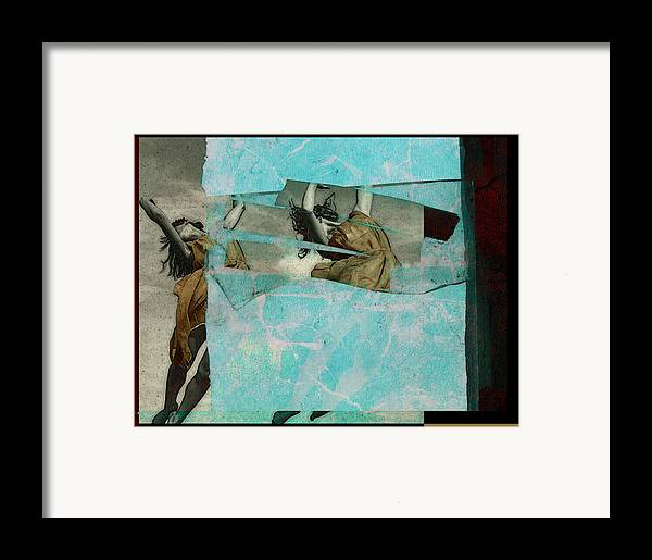 Figurative Framed Print featuring the photograph Break The Sky by Adam Kissel
