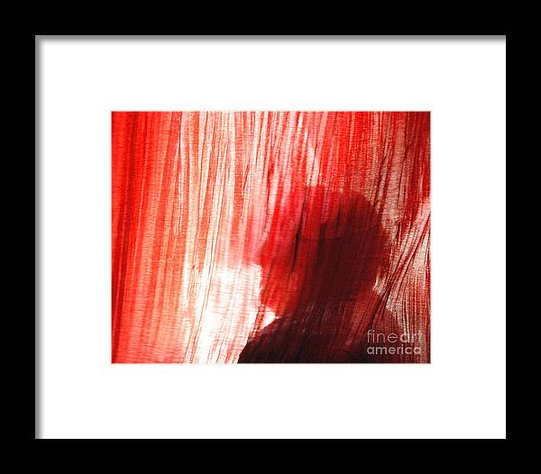 Light Framed Print featuring the photograph Break Through 03 - Dont Look Into The Light by Sean-Michael Gettys