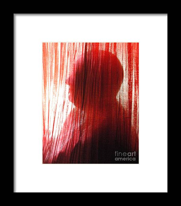 Life Framed Print featuring the photograph Break Through 04 - Other Side Profile by Sean-Michael Gettys