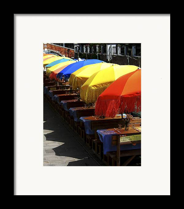 Framed Print featuring the photograph Breakfast Is Served by Joseph Reilly