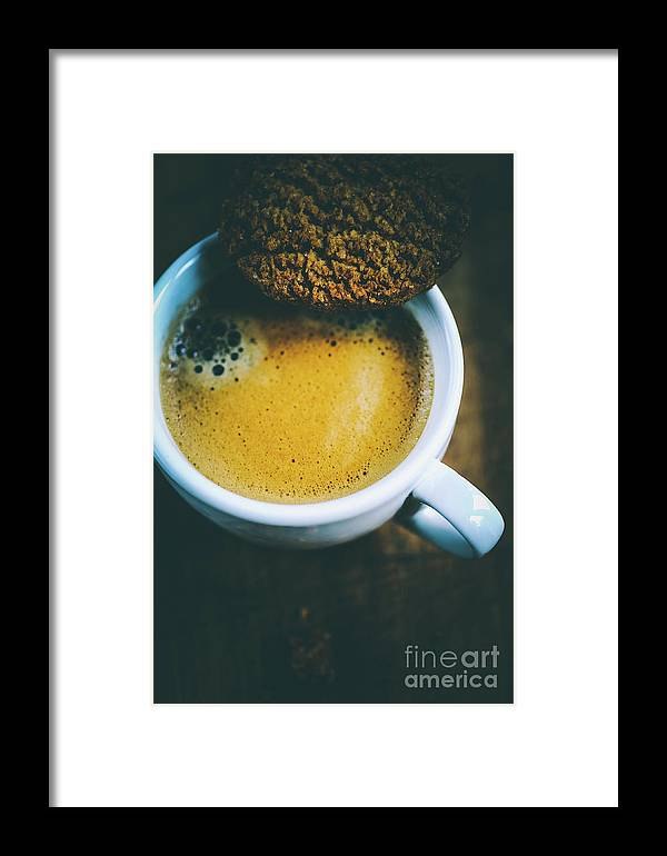 Coffee Framed Print featuring the photograph Breakfast by Jana Behr
