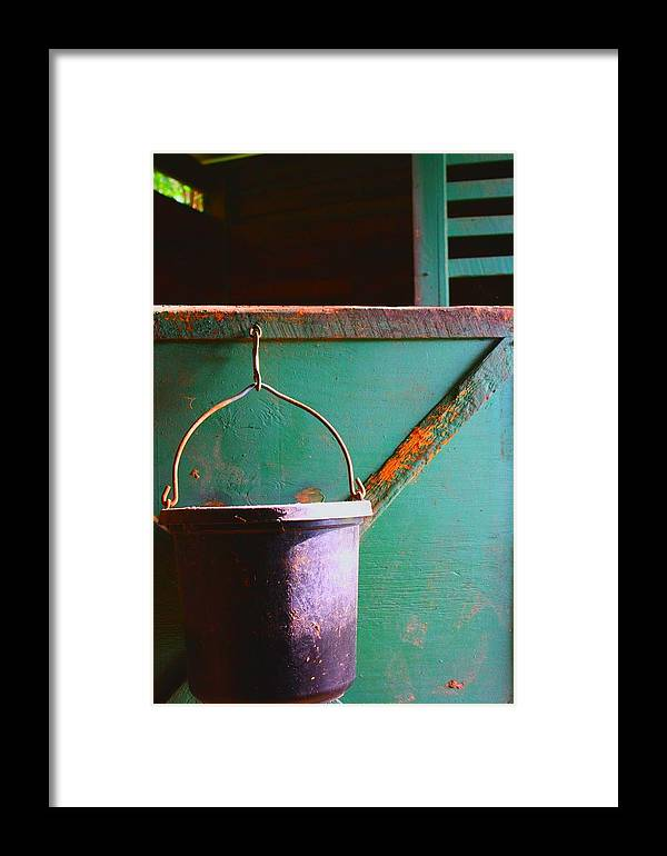 Barn Framed Print featuring the photograph Breakfast by Jill Tennison