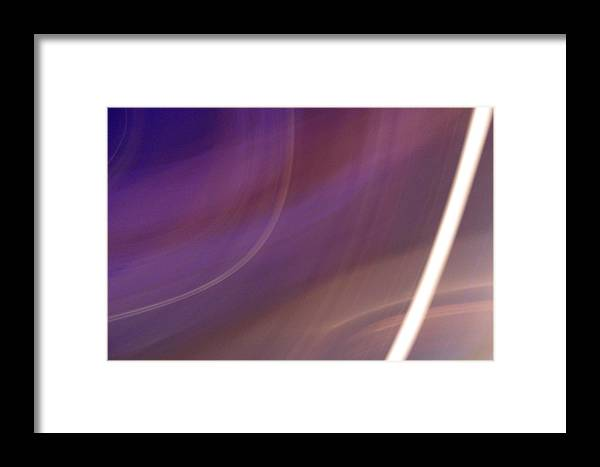 Violet Framed Print featuring the photograph Breakfast On Jupiter by Ilan and Oxana Aelion