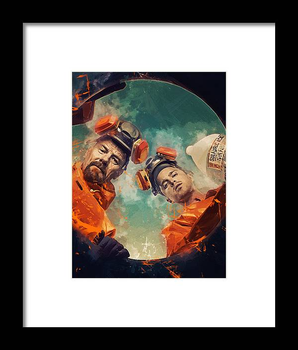 Breaking Bad Framed Print by Afterdarkness