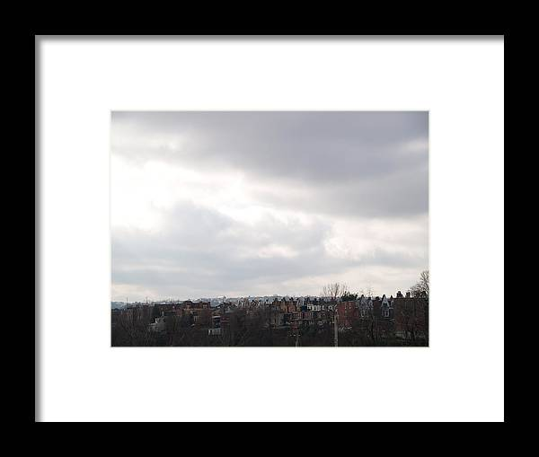 Pittsburgh Framed Print featuring the photograph Breaking Through by Jacob Stempky