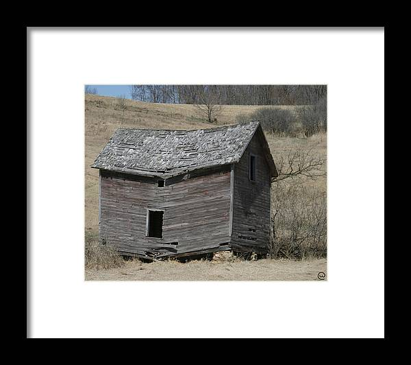 Old Barns Framed Print featuring the photograph Breaking Up by Bjorn Sjogren