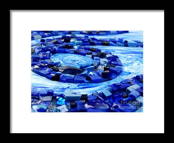 Mosaic Framed Print featuring the photograph Breeze by Valerie Fuqua