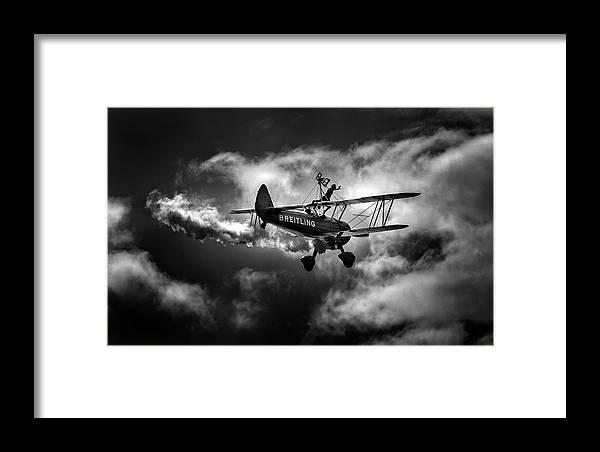 Breitling Framed Print featuring the photograph Breitling Walker 1 by Simon Garratt