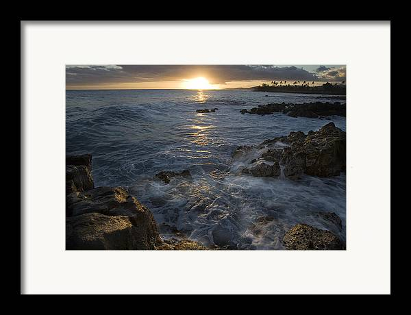 Brenneke Framed Print featuring the photograph Brenneke Sunset by Nick Galante