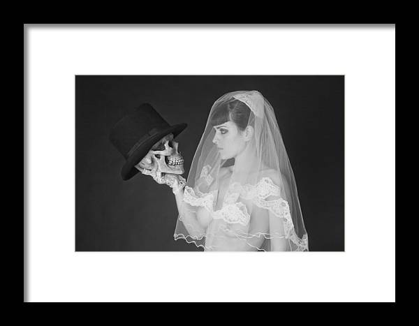 Nude Framed Print featuring the photograph Bride And Groom by MAX Potega