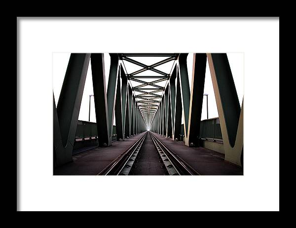 Bridge Framed Print featuring the photograph Bridge by Zoltan Toth
