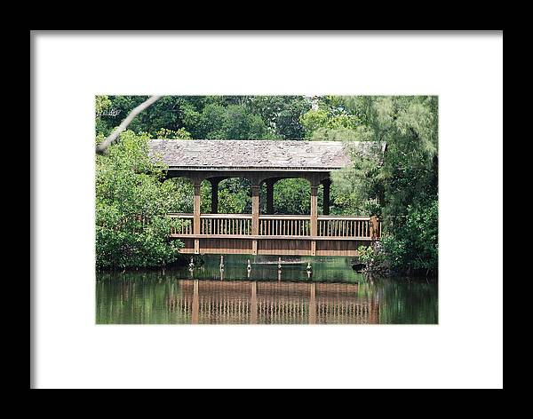 Architecture Framed Print featuring the photograph Bridges Of Miami Dade County by Rob Hans