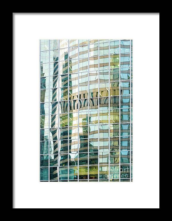 Building Framed Print featuring the photograph Bright City 3 by Werner Padarin