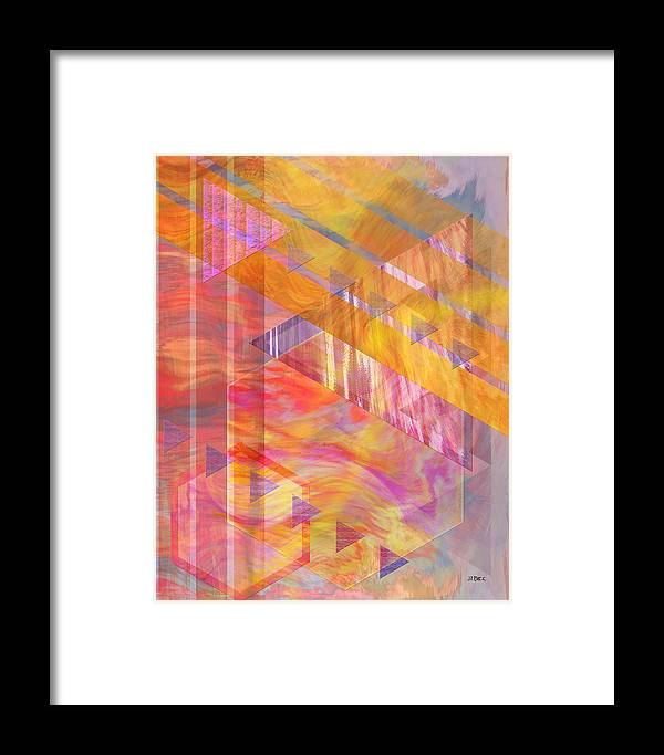 Affordable Art Framed Print featuring the digital art Bright Dawn by John Beck