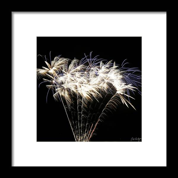 July 4th Framed Print featuring the photograph Bright Lights by Phill Doherty
