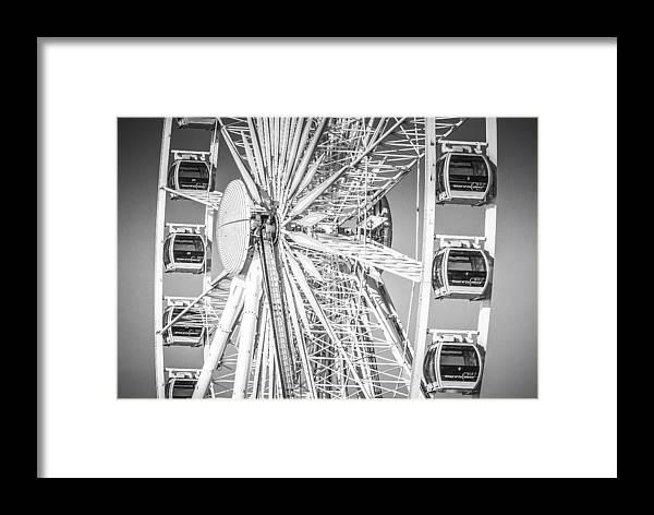 Brighton Framed Print featuring the photograph Brighton Hub by Hazy Apple
