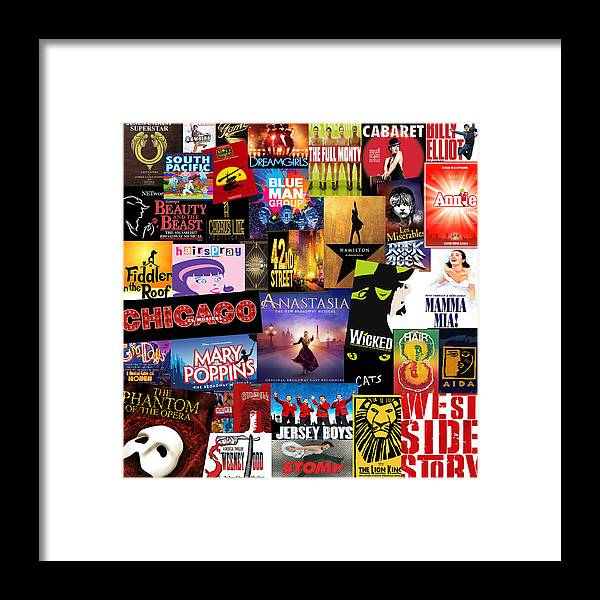 Broadway Framed Print featuring the photograph Broadway 14 by Andrew Fare