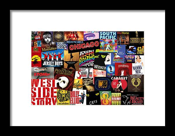 Broadway Framed Print featuring the photograph Broadway 3 by Andrew Fare