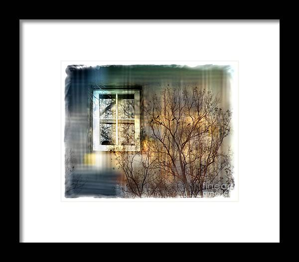 Tree Framed Print featuring the digital art Broken Dreams by Chuck Brittenham