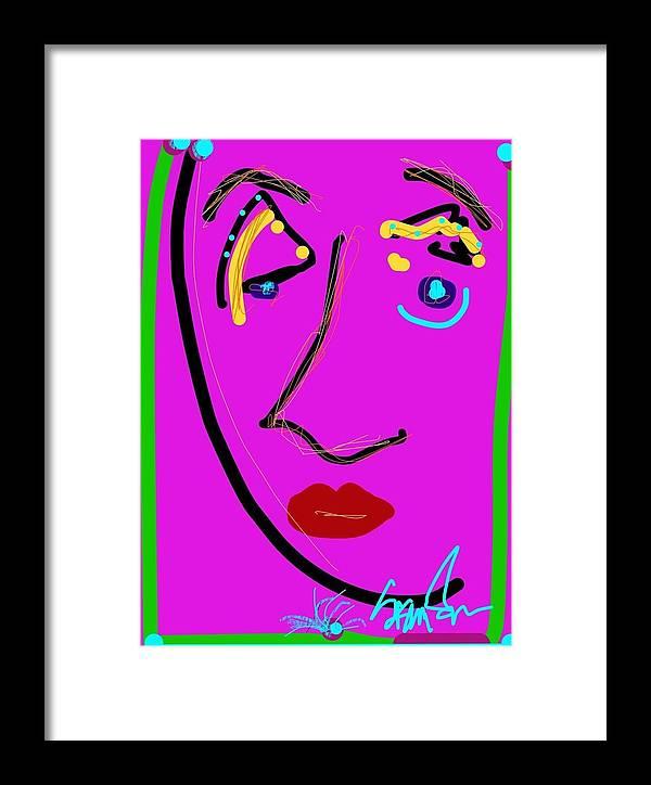 Framed Print featuring the digital art Broken Hearted by Susan Fielder