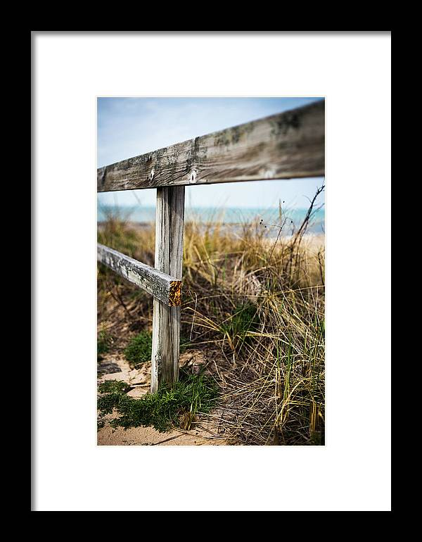 Framed Print featuring the photograph Broken by Sue Conwell