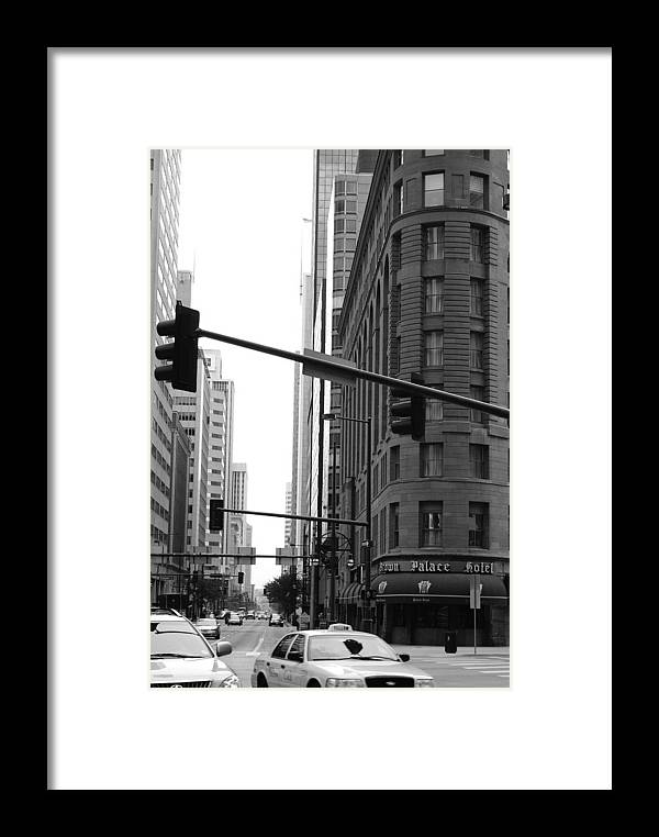 Street Framed Print featuring the photograph Brown Palace by Brian Anderson