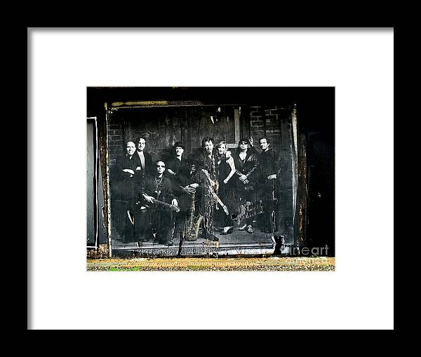 Bruce Springsteen Framed Print featuring the photograph Bruce And The E Street Band by Ed Weidman