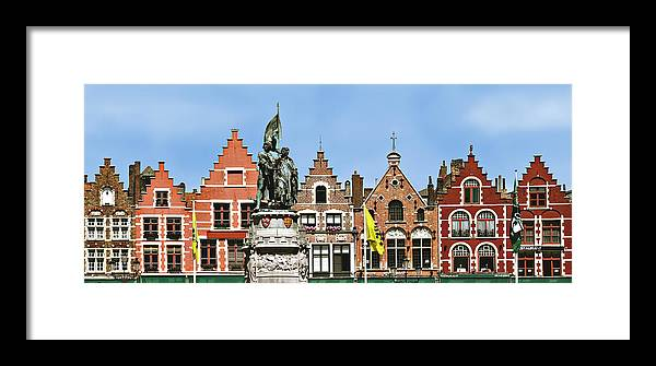 Bruge Framed Print featuring the photograph Bruge by Julie Geiss