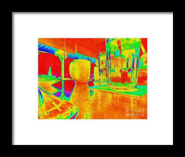 Brunch Framed Print featuring the photograph Brunch Time Perspective by Phil Perkins