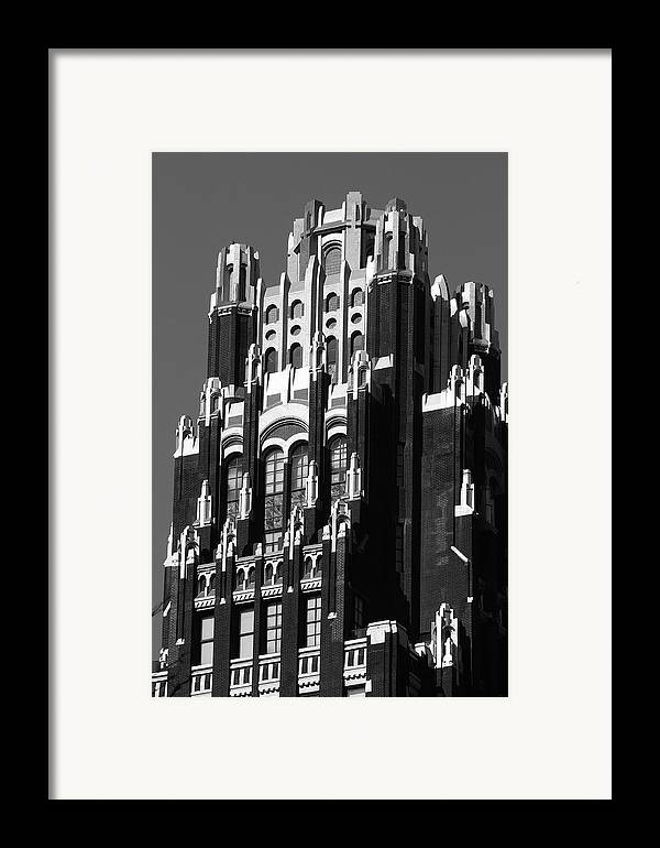 Bryant Park Hotel Framed Print featuring the photograph Bryant Park Hotel by Christian Heeb