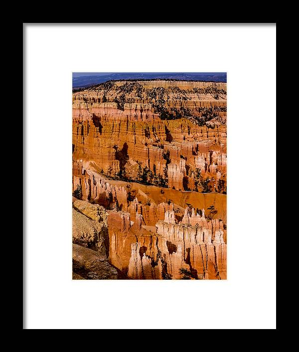 Bryce Canyon National Park Framed Print featuring the photograph Bryce Canyon Series #4 by Patti Deters