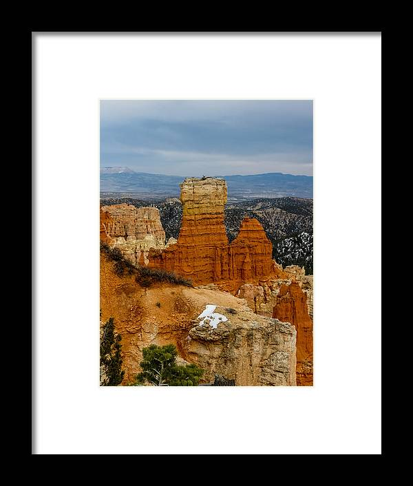 Bryce Canyon National Park Framed Print featuring the photograph Bryce Canyon Series #5 by Patti Deters