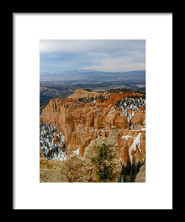 Bryce Canyon National Park Framed Print featuring the photograph Bryce Canyon Series #7 by Patti Deters