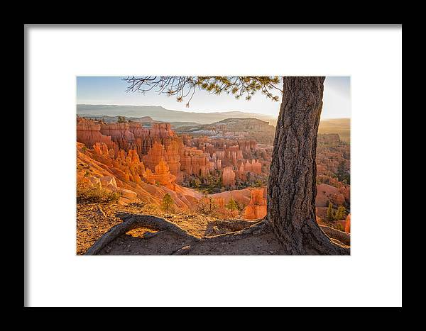Bryce Canyon Sunrise National Park Utah Framed Print featuring the photograph Bryce Canyon National Park Sunrise 2 - Utah by Brian Harig
