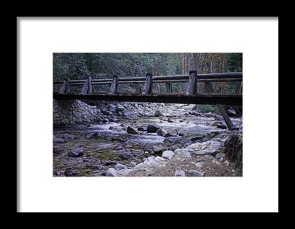 Bubbs Creek Framed Print featuring the photograph Bubbs Creek Bridge by Dale Matson