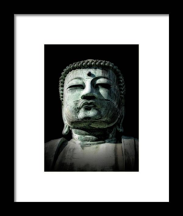 Buddha Framed Print featuring the photograph Buddha by Jeff Watts