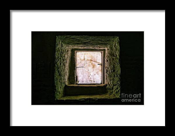 Buenos Aires Framed Print featuring the photograph Buenos Aires Church Window by Stefan H Unger