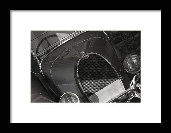 Jez C Self Framed Print featuring the photograph Bugatti 3 by Jez C Self