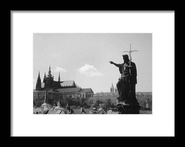 Travel Framed Print featuring the photograph Build My Church by Allan McConnell