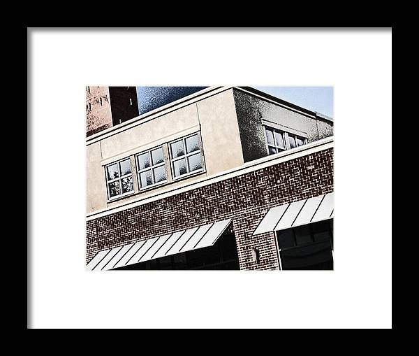 Building Framed Print featuring the photograph Building 1 by Anthony Rapp