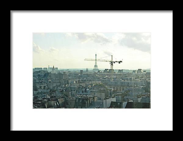 Building Framed Print featuring the photograph Building Paris by HazelPhoto