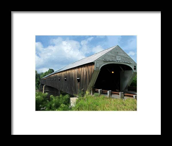 Green Framed Print featuring the painting Built To Last by Eddie Durrett