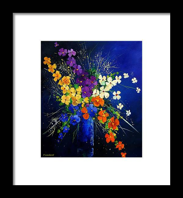 Poppies Framed Print featuring the print Bunch 0408 by Pol Ledent