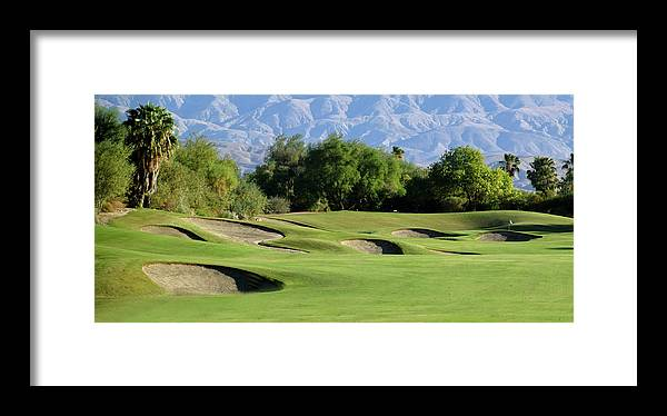 Bunkers At Shadow Ridge Framed Print featuring the photograph Bunkers At Shadow Ridge 2 by Barbara Snyder