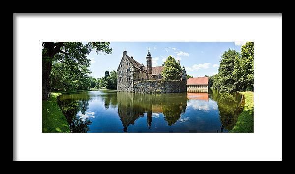 Burg Vischering Framed Print featuring the photograph Burg Vischering by Dave Bowman
