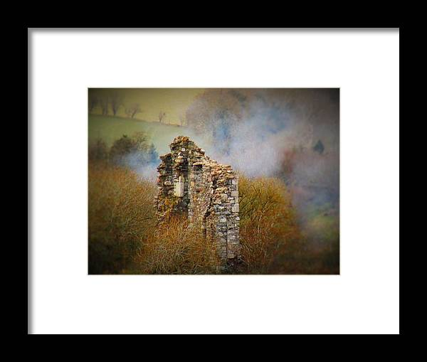 Ruins Framed Print featuring the photograph Burgage Castle by Paula O'Sullivan