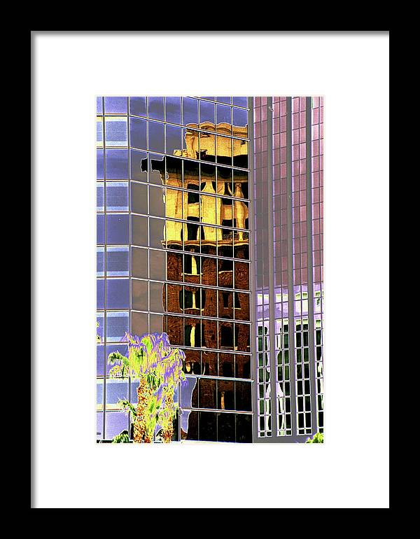 Burned Framed Print featuring the photograph Burnt Out Reflection by Richard Henne