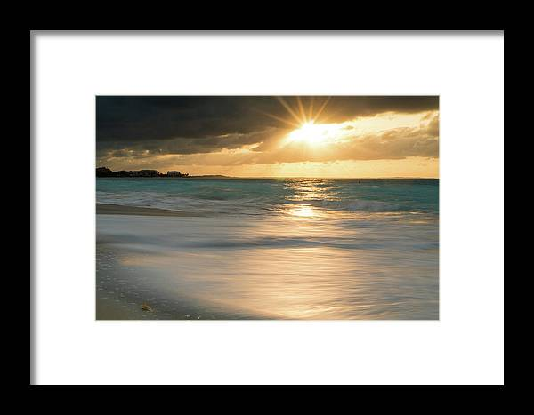 Landscape Framed Print featuring the photograph Burst by Christian Mullin