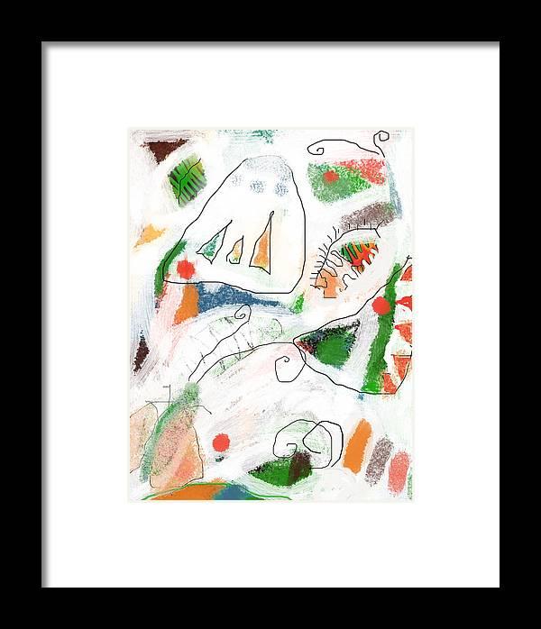 Butterfly Framed Print featuring the digital art Butterflies by Aliza Souleyeva-Alexander
