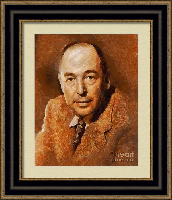 C. S. Lewis, Literary Legend by Esoterica Art Agency